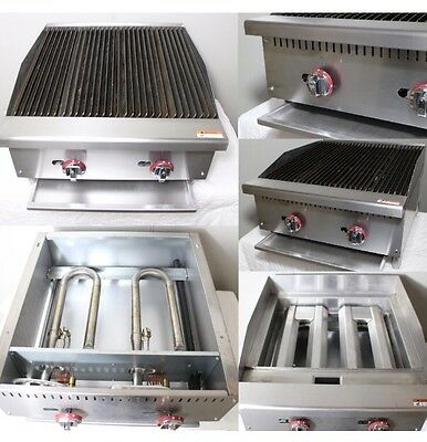 Brand New Infernus Gas Char Broiler 2 Burner Char Grill  610mm, Collection Only