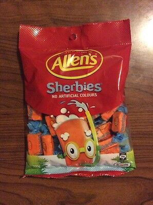 1 x 200g Packet Allen's Sherbies - No Artificial Colours