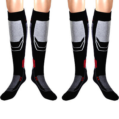 Men Long Thick Sport Snow Ski Hiking Outdoor Snowboard Warm Casual Thermal Socks