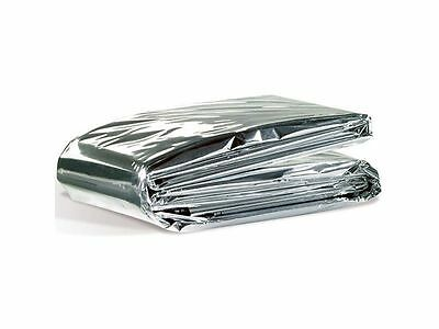 5pcs Foil Space Blanket Emergency Survival Blanket Thermal Rescue First Aid
