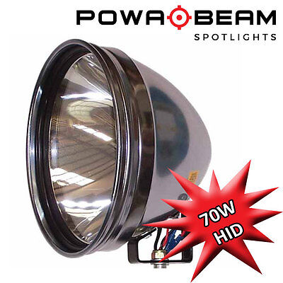 "Powabeam 70w PRO-9 HID Professional Roof Mounted Spotlight 9"" Hunting Light"