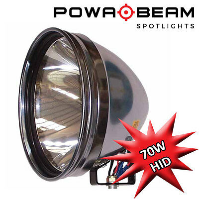 "Powabeam PRO-9 HID 70w Professional Roof Mounted Spotlight 9"" Hunting Light"