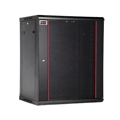 COMS IN A BOX 12RU SERVER CABINET WITH HOLE IN THE BACK 600x450