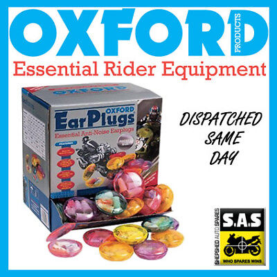 Oxford Motorcycle Bike Scooter 2 Pairs Moldex SNR35 Ear Plugs OF297