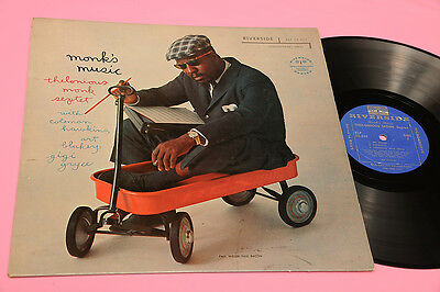 Thelonious Monk Lp Monk's Music Top Jazz Orig Usa '60 !!!!!!!!!!!!!!!!!