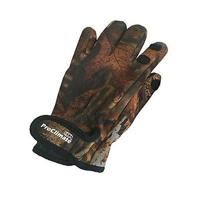 ProClimate Neoprene Shooting Fishing Outdoor Gloves CAMO