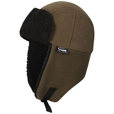 ProClimate Waterproof Thinsulate Fleece Shooting Carp Fishing Trapper Hat