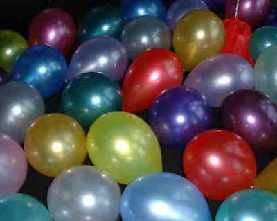 """1, 25, 100 x PEARLESCENT PEARL LUSTRE BALLOONS 12"""" wedding plain birthday party"""