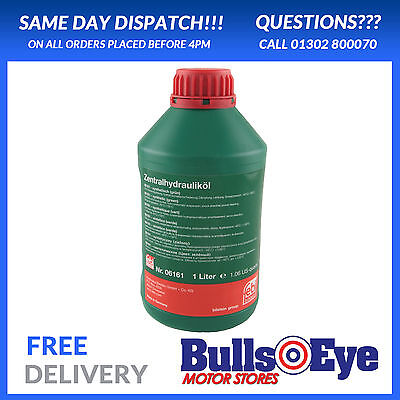 FORD CHF11s Hydraulic Oil 1 Litre Green Power Steering,Suspension Fluid
