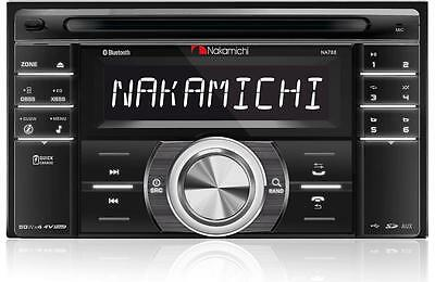 Nakamichi NA788 Double DIN USB / SD Card / Bluetooth / CD / Car Audio Receiver
