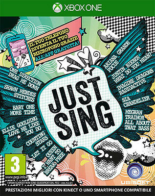 Just Sing XBOX ONE IT IMPORT UBISOFT