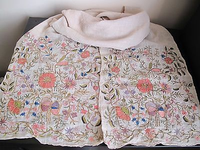 Vintage old 19 Century Turkey Ottoman beautiful GOLD embroided bread cloth Color