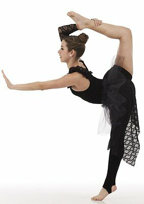 Acro Unitard Dance Costume Contemporary Ballet Midnight Child Sizes Costumes