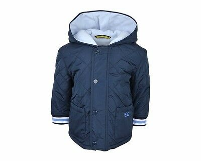 Baby Hugo Boss J96061 849 Navy Quilted Jacket