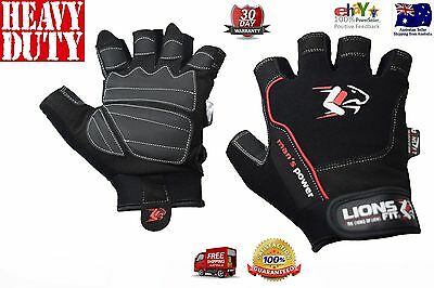 Men's Power 2017 Gym Body Building Training Fitness Weightlifting Exercise Glove