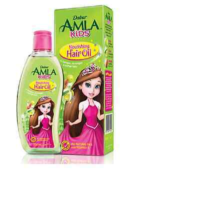Dabur Amla Kids Nourishing Hair Oil for Long, Strong & Soft Hair 200ml