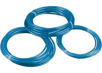 "Motorcycle Blue Polyurethane Fuel Line 5/16"" ID 3' Universal"