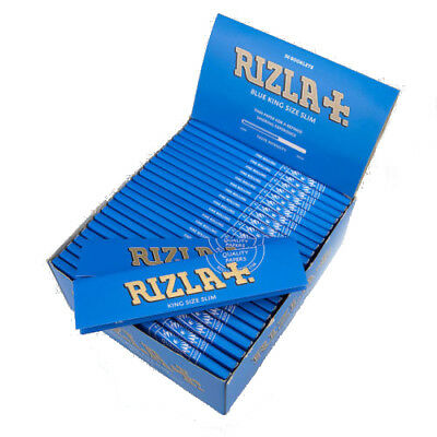 Rizla Blue King Size Slim Cigarette Smoking Rolling Paper - Genuine