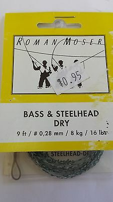 ROMAN MOSER bass & steelhead dry  FREE SHIPPING worldwide