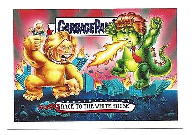 Garbage Pail Kids Topps 2016 Disgrace To The White House No.1 Card Limited Run