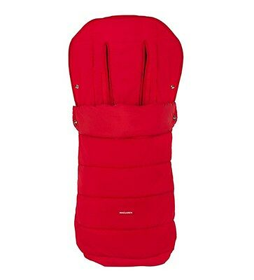 Maclaren Packaway Footmuff - Scarlet New in PACK