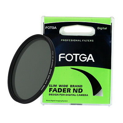 FOTGA SUPERIOR Fader Variable ajustable Nd Filtro ND2 to ND400 55mm Neutral