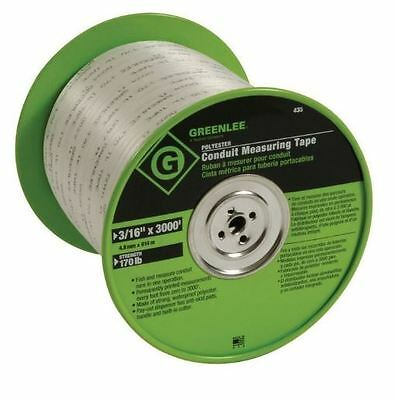 """Greenlee 435 Conduit Tape-Measuring 3/16"""" Poly (21562)"""