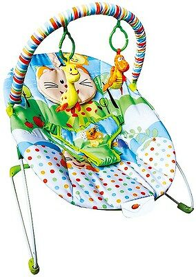 Bouncer Baby Rocker Chair Infant Toddler Musical Toys Vibration Soothing Seat