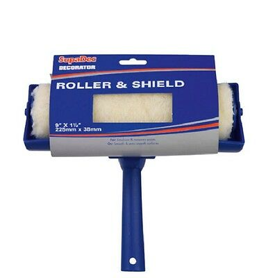 """Paint Roller With 9"""" Shield Guard For Wall Ceiling Emulsion Painting"""