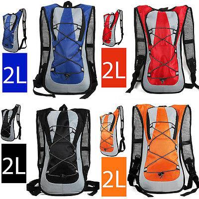 Sporting Backpack 2L Water Bladder Cycling Bag Hydration Packs Hiking Camping