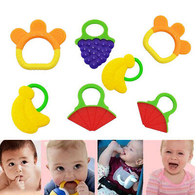 1pcs Chewable New Bite me Hot Fruit Teether Teethers With Baby Teething Toys