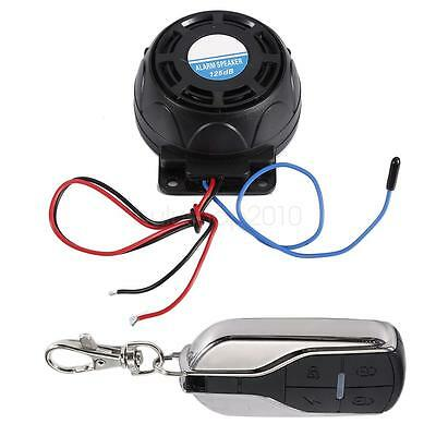 New Motorcycle Anti-theft Security Alarm Systems Remote Control Engine Start HS
