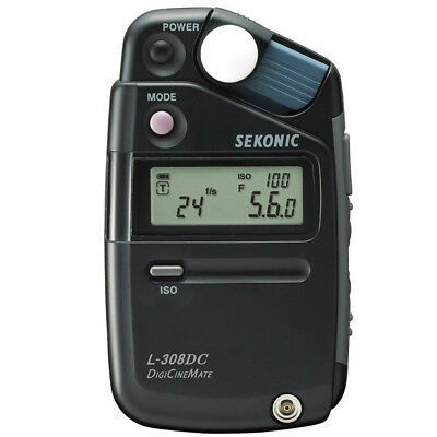 100% New In Box Sekonic L-308DC Photographic Light Metre for DigiCineMate 100349