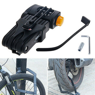 Bike Anti Theft Chain Foldable Cycle Folding Security Lock NEW