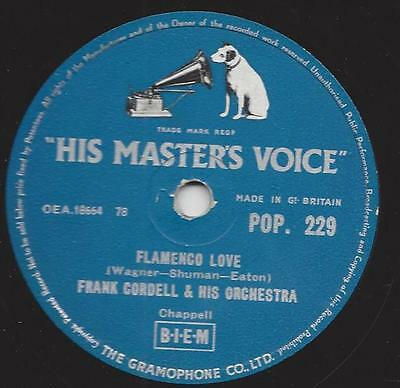 Orchester Frank Cordell 1955 : Sadie´s Shawl + Flamenco Love