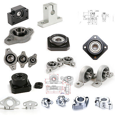 Ball Bearings Pillow Block /Flange Mount Linear Shaft/ End Support/ FK/SHF/FF/FL