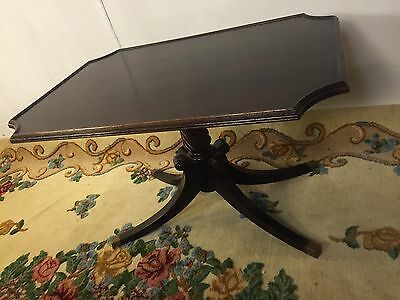 Stand Antique Mahogany ships greyhound for $59.See9pics 4size/details.MAKE OFFER