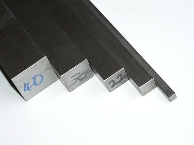 Bright Mild Steel Square Bar (Various Sizes Available)