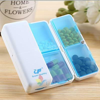 7Day Weekly Pill Medicine Box Holder Storage Organizer Container Case Portable A
