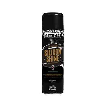 New Muc-Off Motorcycle Bike Cleaning Care Maintenance Silicon Shine 500ml