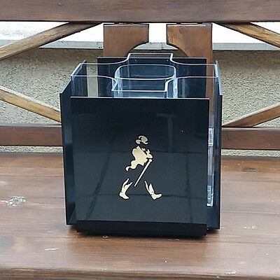 Johnnie Walker Whiskey Ice Bucket Bottle Rare