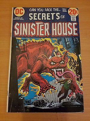 Secrets of Sinister House #8 ~ VERY FINE VF ~ (1972, DC Comics)