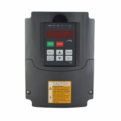 HY Frequenzumrichter 2,2KW 220V VFD 3HP 10A Variable Frequency Drive Inverter