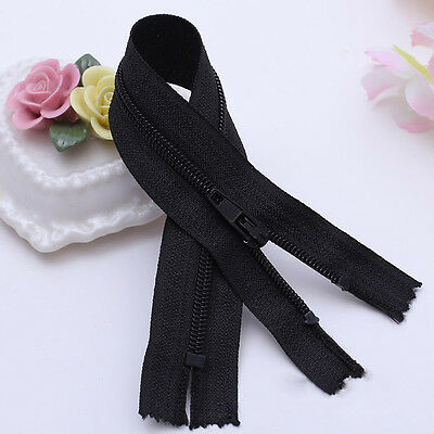 10pcs Nylon Coil Invisible Zippers Tailor Sewer Craft 9 Inch Crafter's &FGDQRS