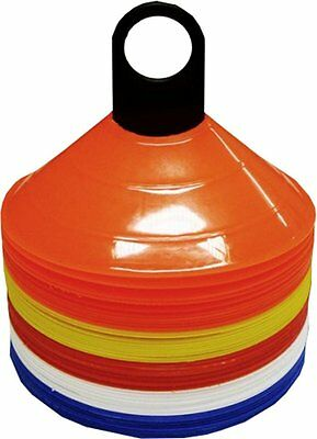 Ampro Space Marker Safety Cones - Set of 50 - Football / Sports /Agility