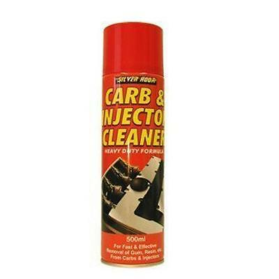 Silverhook Carb Cleaner/Injector Cleaner Spray 500ml Quality Carburettor Cleaner
