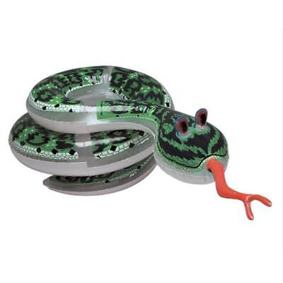 """60"""" 5 Feet Long Party Inflatable Snake Animal Kids Party Blow Up Kids Jungle Toy"""