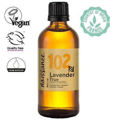 Naissance Lavender, True Essential Oil 100ml  Use in Aromatherapy, Massage Blend