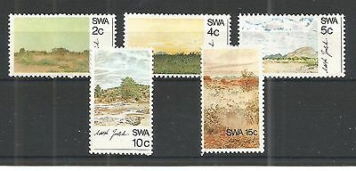 S.w.a 1973 Paintings Sg,235-239 Un/mm Nh Lot 1130A