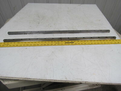 "Rexroth Size 20 Liner Rails 34-5/8"" Long Lot of 2"